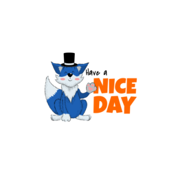 """It Says """"Have a Nice Day"""""""