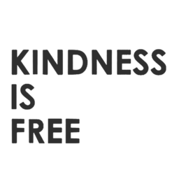 Showing kindness doesn't cost a thing, it only brings you happiness |   Unisex Classic Jersey T-shirt | 155 g | 100% Combed Organic Cotton