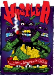 this a custom artwork that portrays an hustler spirit to win in all aspect of life. ''I come from a bloodline of hustlers''