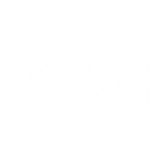 Irorun is a Yoruba word with the meaning Convenience, Comfort, Ease, etc.   Unisex Black T-shirt   100% Combed Organic Cotton Jersey   175g
