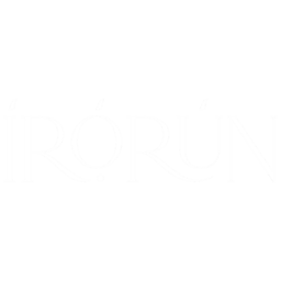 Irorun is a Yoruba word with the meaning Convenience, Comfort, Ease, etc. | Unisex Black T-shirt | 100% Combed Organic Cotton Jersey | 175g