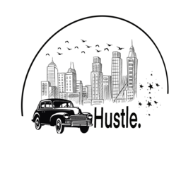 Hustle in the city motivation Tshirt