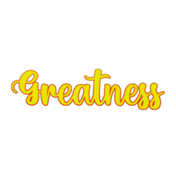 This is a  design that makes you believe we are created to be great.