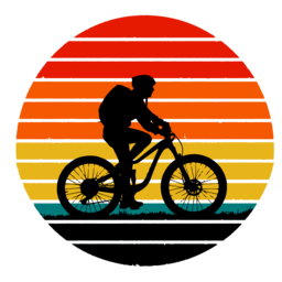 Mountain vintage cycling