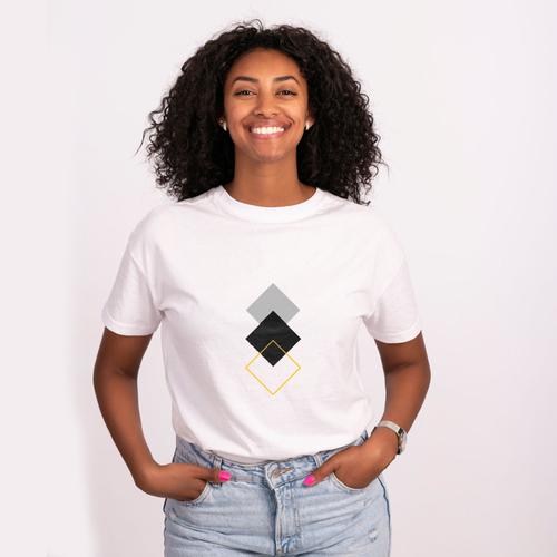 Unisex Black T-shirt | 100% Combed Organic Cotton Jersey | 175 g