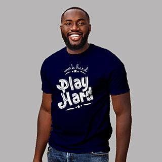 Navy Blue Unisex Classic Jersey T-shirt | 155 g | 100% Combed Organic Cotton
