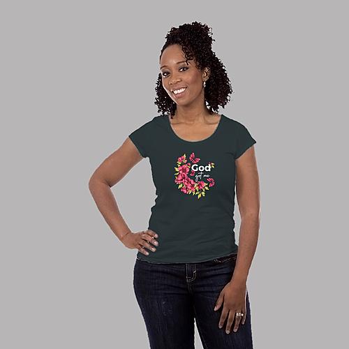 Speaks on God's Abundant Grace| Unisex Classic Jersey T-shirt | 155 g | 100% Combed Organic Cotton