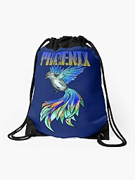 Feel invincible in our phoenix designs. Rise from your ashes and be renewed. A reminder to rise.