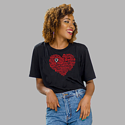 Black Unisex Classic Jersey T-shirt | 155 g | 100% Combed Organic Cotton