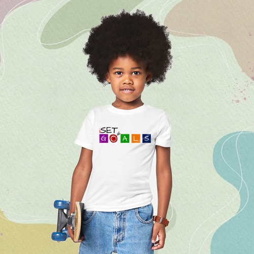 A t-shirt that motivates you to keep nurturing your child's dreams as they set goals too