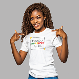 For Women proud of their Motherland | Women's Unisex T-shirt | 155 g | 100% Combed Organic Cotton