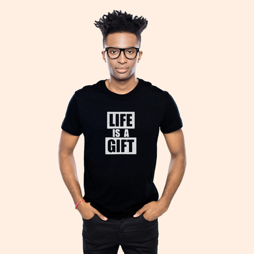 Live in the present and appreciate every moment | Unisex Classic Jersey T-shirt | 155 g | 100% Combed Organic Cotton