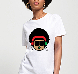 Stylized african pop design