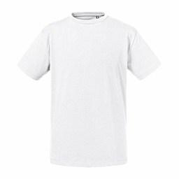 White Organic Kids T-shirt