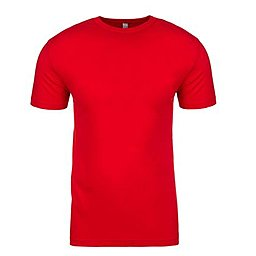 Russell Slim fit Unisex Red TShirt