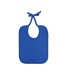Baby bib - Bright Blue