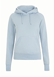 Women's Pull over Hoody - Sky blue