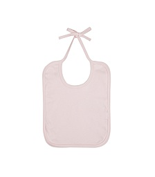 Baby Bib - Powder Pink