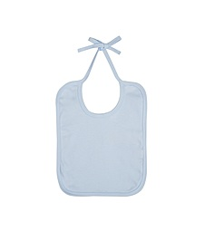 Baby Bib - Soft Blue